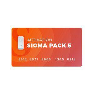 Ativação do Sigma Pack 5