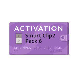 Pack 6 Ativação para Smart Clip 2