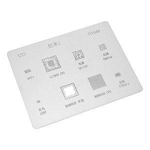 Stencil Reballing BGA G1046 Xiaomi Redimi 2