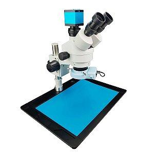 Microscopio Trinocular 37045A Completo CN2