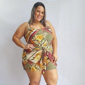Conjunto Short Amarração/Blusa