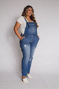 Macacão Jeans - Jardineira