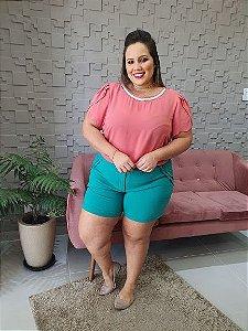 Shorts Bengaline Bolso