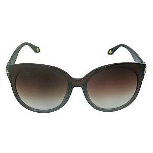Óculos de Sol Redondo Marrom 1962