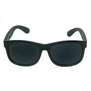 Óculos de Sol Quadrado Preto Kids