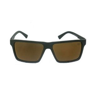 Óculos de Sol Quadrado Marrom