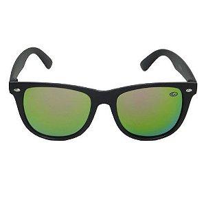 Óculos de Sol Quadrado Preto Infantil
