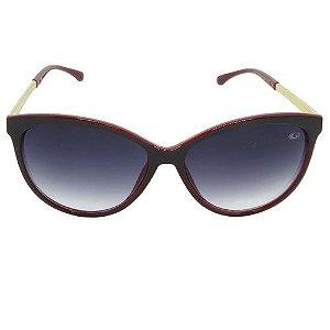 Óculos de Sol Gatinho Bordô
