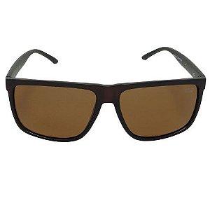 Óculos de Sol Quadrado Marrom 2590