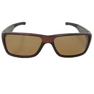 Óculos de Sol Quadrado Marrom 2603