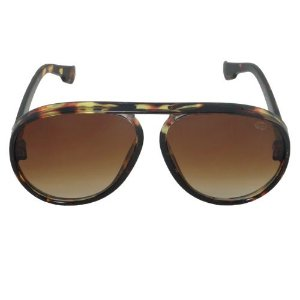 Óculos de Sol Aviador Marrom