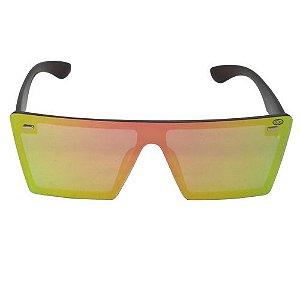 Óculos de Sol Quadrado Espelhado
