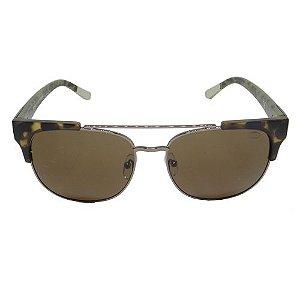 Óculos de Sol Retrô Marrom Geror