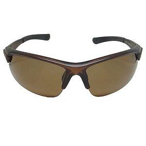 Óculos de Sol Esportivo Marrom Geror