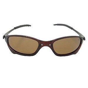 Óculos de Sol Esportivo Marrom