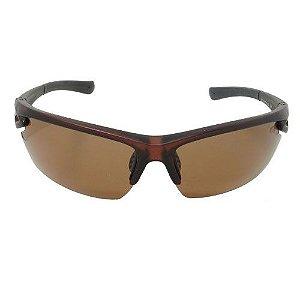 Óculos de Sol Máscara Marrom