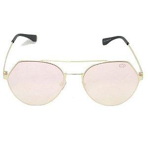 Óculos de Sol Redondo Rosa Geror