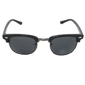 Óculos de Sol Retrô Preto Geror
