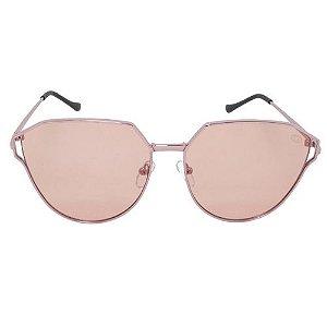 Óculos de Sol Retrô Rosê Geror