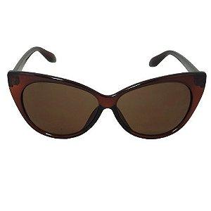 Óculos De Sol Gatinho Marrom