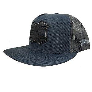 Boné Trucker Azul
