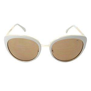 Óculos De Sol Gatinho Bege