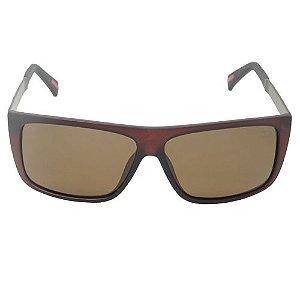 Óculos de Sol Quadrado Marrom Pequeno Defeito