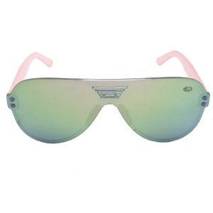 Óculos de Sol Infantil Rosa Pequeno Defeito