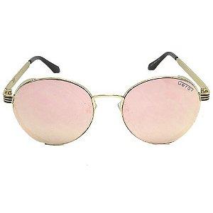 Óculos de Sol Redondo Rosa Pequeno Defeito