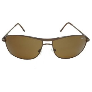 Óculos de Sol Esportivo Marrom Pequeno Defeito
