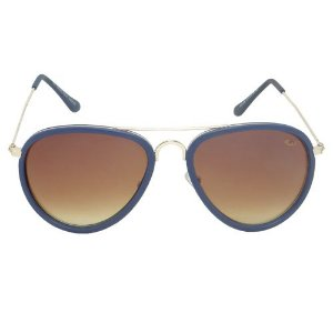 Óculos de Sol Aviador Marrom Pequeno Defeito