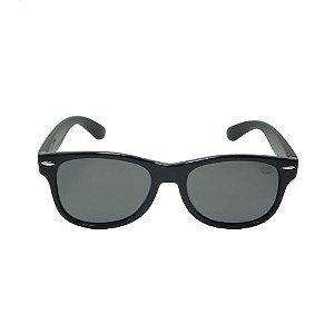 Óculos de Sol Infantil Retrô Preto