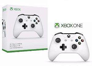 Controle Sem Fio Xbox One Microsoft - Branco