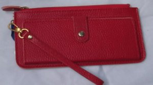 Carteira De Bolsa Espaço P/ Cartão com Ziper