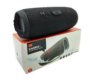 Caixa de Som Portátil Bluetooth JBL Charge 3 - 1°Linha