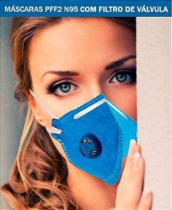 Respirador Mascara Descartavel PFF2
