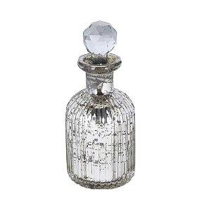 Perfumeiro em vidro espelhado P