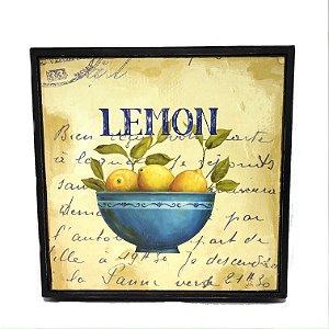 Quadro para pendurar limão siciliano