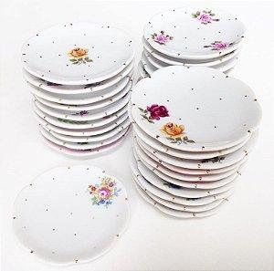 Mini pratinho em porcelana pintada