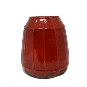 Cachepot em cerâmica vermelho