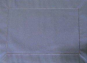 Jogo americano em tecido impermeável azul