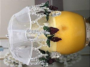 Cobre jarra de abacaxis