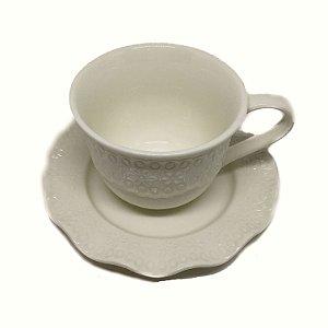 Xícara para chá em porcelana Princess