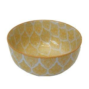Bowl em porcelana estampada modelo 02 G