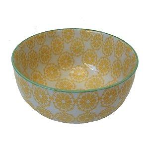 Bowl em porcelana estampada modelo 04 G