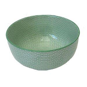 Bowl em porcelana estampada modelo 07G