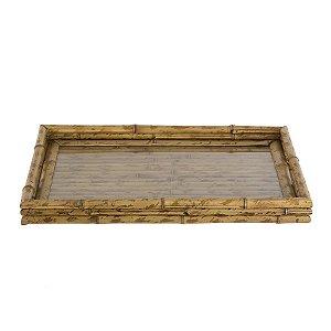 Bandeja em bambu G