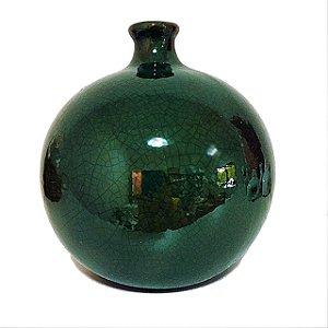 Vaso bola verde musgo