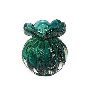 Vaso trouxinha verde água PP