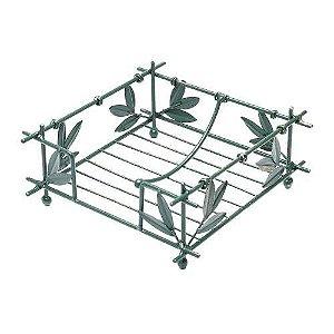 Porta guardanapo em ferro bambu